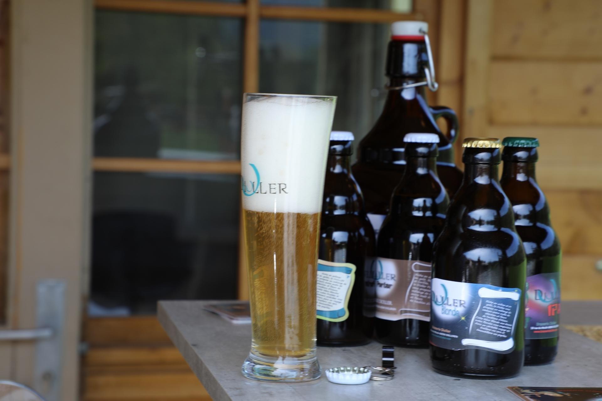 bière blonde en Alsace